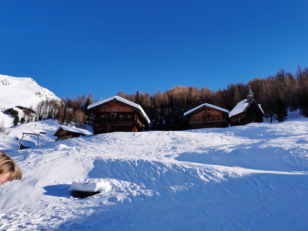 Winter Kameliesenalm Innervillgraten
