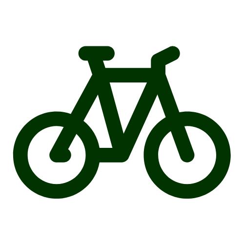 Fahrrad Icon Sommersport